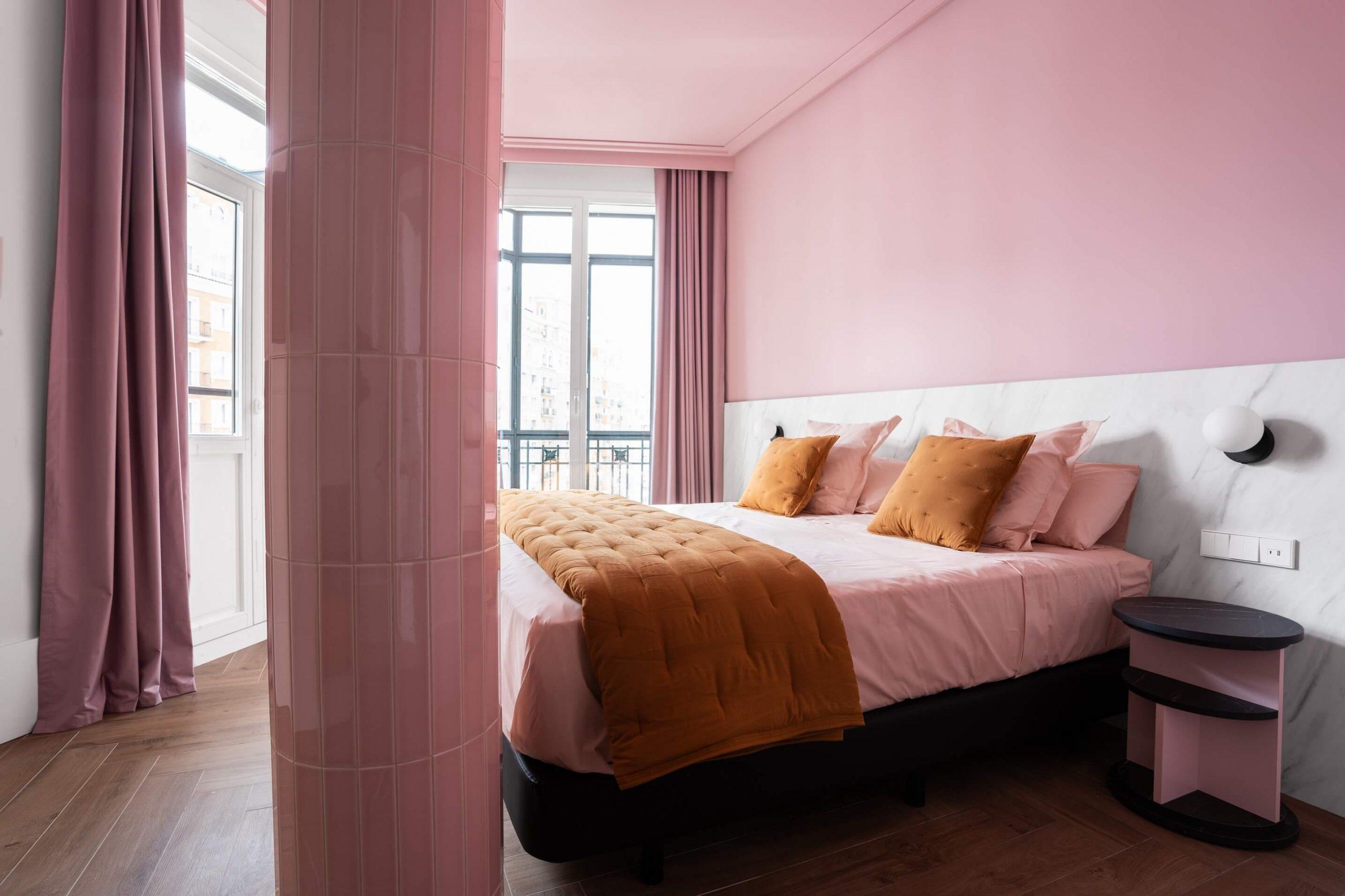 Habitación del Hotel Bienvenir (Madrid)