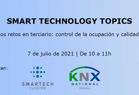 Ciclo de Smart Technology Topics: Uno de los retos en terciario: control de la ocupación y calidad del aire.