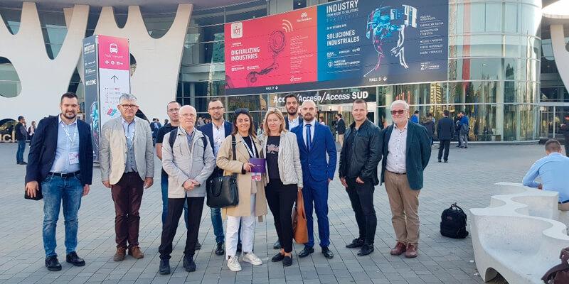 Domotys acoge durante el IoT una delegación de empresas europeas