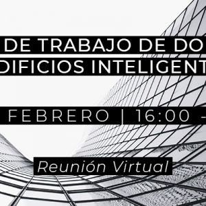 Grupo de Trabajo de Domótica y Edificios Inteligentes - 10 de febrero de 2021
