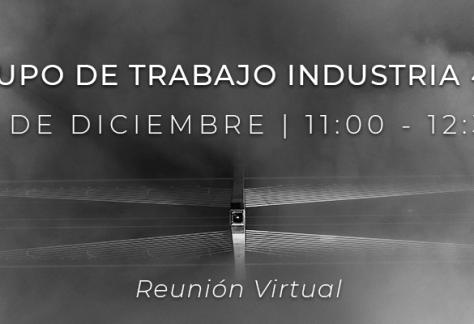 Grupo de Trabajo Industria 4.0 - 11 de diciembre de 2020