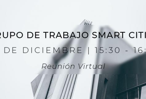 Grupo de Trabajo Smart Cities - 14 de diciembre de 2020