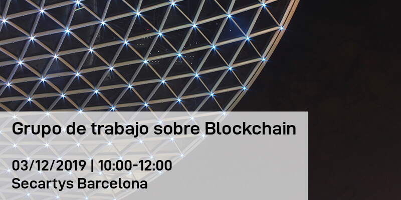 Grupo de Trabajo sobre Blockchain en Barelona
