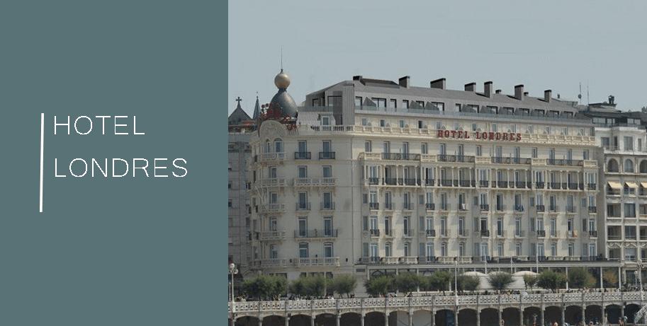 Hotel Londres y de Inglaterra en San Sebastián,