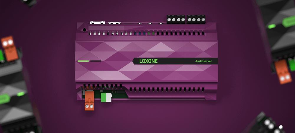 Loxone lanza Audioserver