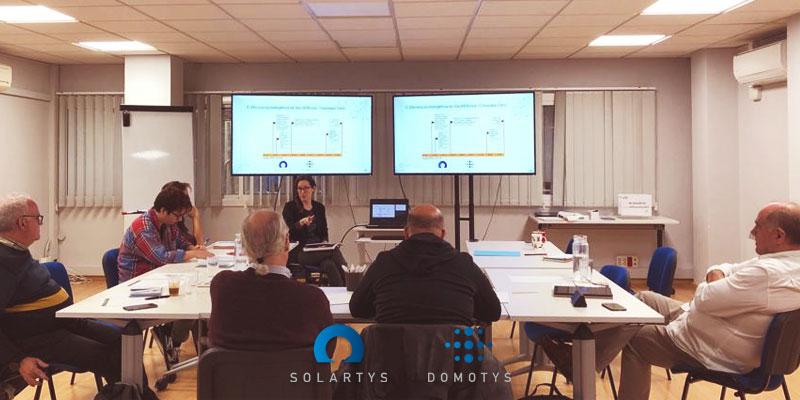 La semana pasada celebramos la primera reunión del Grupo de Trabajo que hemos organizado con Solartys sobre la transición energética